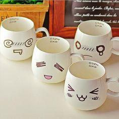 tazza di porcellana tazza di caffè in tazza grande capacità tazza in ceramica tazza del latte 320 ml,Regalo di compleanno,Regalo di