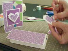 S fold card tutorial