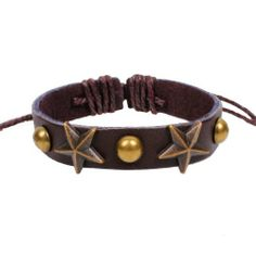Fashion Lady Retro Star Metal Leather Brown Weave Bracelet Strands Bracelet Suede Rope Bracelet Gift Whatland,http://www.amazon.com/dp/B00J3MB57S/ref=cm_sw_r_pi_dp_ZjLEtb19J57J8PBX