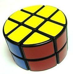 Lanlan 2 x 3 x 3 Pie-shape Round Column Speed Cube Black Puzzle