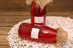 Sirop de Capsuni Stevia, Wine, Drinks, Bottle, Jars, Food, Syrup, Canning, Kitchens