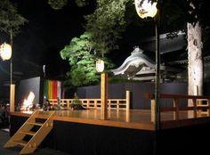 吉祥寺の月窓寺で観た薪能は虫の音がBGM - 吉祥寺と周辺の街散歩