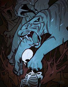 Weretiger - Cool Art Print by jemmasalume Animal Sketches, Animal Drawings, Drawing Reference Poses, Art Reference, Tiger Art, Furry Art, Cat Art, Art Tutorials, Art Inspo