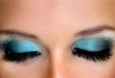 Blue Makeup <3