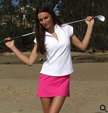 I need this skirt. All ladies golf gear is so lame.