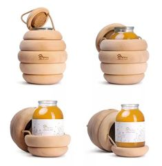 Miel Bzzz Honey from the Hive! Honey Packaging, Cool Packaging, Food Packaging Design, Bottle Packaging, Packaging Design Inspiration, Brand Packaging, Innovative Packaging, Honey Bottles, Bottle Design