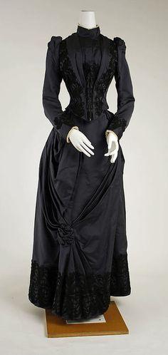 Dress  1888-1889  The Metropolitan Museum of Art