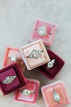 Antique engagement rings from Victor Barbone