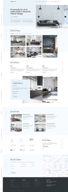 Elegant and minimalist web design in pastel blue. Elegant and minimalist web design in pastel blue. Website design color in - Layout Design, Layout Web, Ux Design, Page Design, Website Layout, Website Ideas, Website Web, Create Website, Branding Design