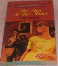 The Man At The Manor Olga Sinclair Book Candlelight Romance Convenient Marriage