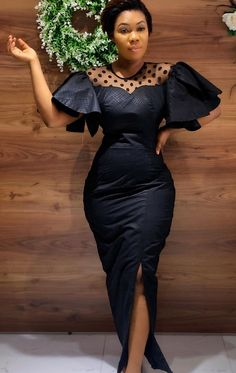 Ankara Dress Designs, African Print Dress Designs, Short African Dresses, Latest African Fashion Dresses, Funeral Dress, Funeral Outfits, Funeral Attire, Lace Gown Styles, Style Africain