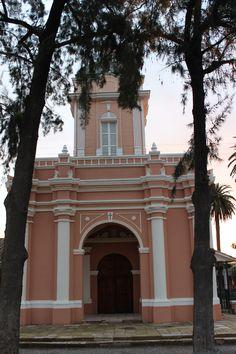 Portico Iglesia San José del Carmen, El Huique. Agosto 2014