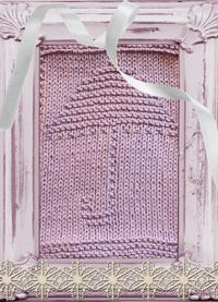 Knitted Washcloth Umbrella