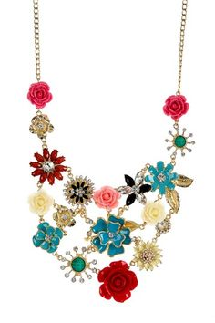 Flowering Jasmine Bib Necklace by Amrita Singh on @HauteLook