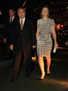Marcela Temer: vestido