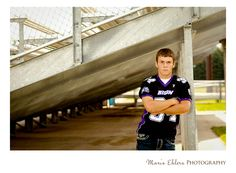 High school senior portrait for a football player, #photography, #seniors, #seniorportraits