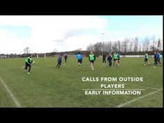 Rugby Running Lines Drill from Newcastle Flacons - YouTube
