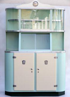 Vintage Steel Kitchen Cabinet