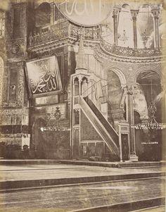 Ayasofya İç Görünümü /1885
