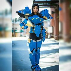 Overwatch - Pharah  Cosplayer: @dawnzillie  PC: Keyhole Productions Photography _______________________