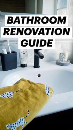 Bathroom Trends, Budget Bathroom, Bathroom Renovations, Bathrooms, Bathroom Gadgets, Black Taps, Wall Hung Toilet, Sink Design, Diy Tv