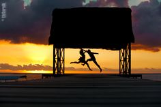 """Dancing Sunset"" | Mauritius"