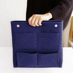 Bag in Bag Felt Casual Travel Multi-pockets Storage Bag Liner Package – narachic Cosmetic Storage, Bag Storage, Linnet, Casual Bags, Tote Bag, Travel Bags, Travel Backpack, Bag Sale, Leather Shoulder Bag