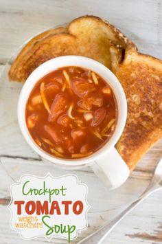 Weight Watchers: Chunky Crockpot Tomato Soup