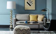 modern living room decorating idea