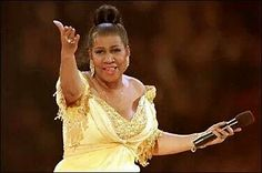 Queen of SOUL!! ARETHA FRANKLIN.