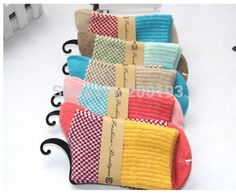SMILE MARKET New arrival 4pairs/lot Vintage Thick Warm Socks Women Winter(Random mix 4 color)-in Socks from Women's Clothing & Accessories on Aliexpress.com | Alibaba Group
