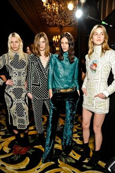 Balmain fall winter 2012/2013