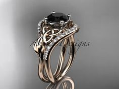 Details about  /Classic Black Gold Titanium Ring Womens Handfasting Wedding Band Sizes 5-8 6mm