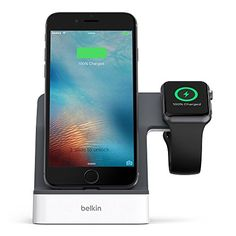 Belkin PowerHouse Charge Dock for Apple Watch and iPhone, Compatible with iPhone 6 / 6s, iPhone 6 Plus / 6s Plus, iPhone 5 / 5s / 5c and iPhone SE