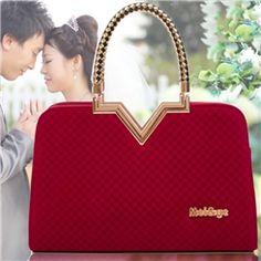 Fashion Romantic Special V Design Handbags for Women