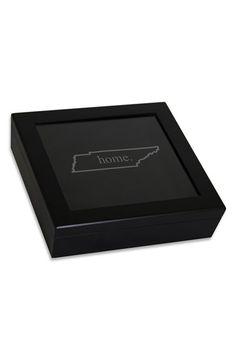 Cathy's Concepts 'Home State' Keepsake Box - Metallic