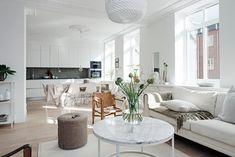 18 milionů korun za tuto čtyřpokojovou krásu ve švédském Göteborgu - příliš moc nebo cena odpovídá? | Living | bydlení | WORN magazine