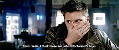 Jensen Ackles as Dean Winchester Demon Dean, It's Supernatural, Sam And Dean Winchester, Super Natural, It's Raining, Amazing Adventures, Destiel, Family Business, Jensen Ackles