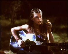 milla jovovich as the coolest hippie on the planet in dazed and confused