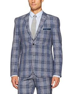 Paisley & Gray Men's Slim Fit Single Breasted Plaid Suit ... https://www.amazon.com/dp/B072LXFVCN/ref=cm_sw_r_pi_dp_U_x_26OvAbFABJTGH