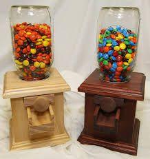 Image result for wooden candy dispenser