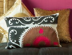 I pinned this from the Neroli Home - Bright & Exotic Window Panels & Pillows event at Joss and Main!