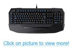 ROCCAT Ryos MK Pro Mechanical Gaming Keyboard with Per-Key Illumination - Blue Cherry MX Key Switch (ROC-12-851-BE)