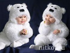 Вяжем костюмчик для малыша «Мишка Умка»