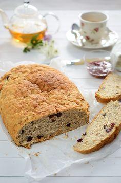 Receta de pan dulce con muesli