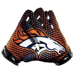 Men's Nike Denver Broncos Vapor Jet 2 Gloves