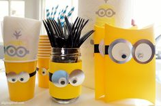 DIY Minions Party Ideas