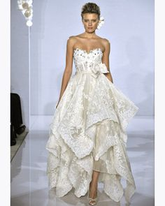 "pnina tornai always has sort of ""out there"" dresses, but this one caught my eye -- it's pretty!"