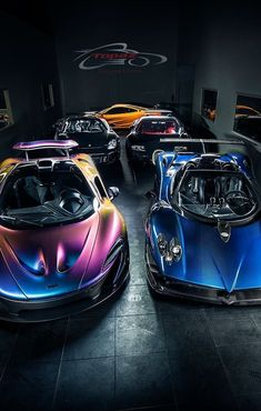Mc Laren P1, Pagani Zonda, Bugatti Veyron and Porsche Carrera GT #PaganiZonda