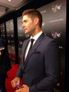Jensen. Supernatural 200th Episode Party
